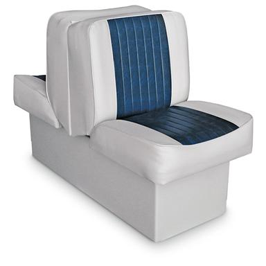 Wise Deluxe Boat Lounge Seat, Grey / Navy
