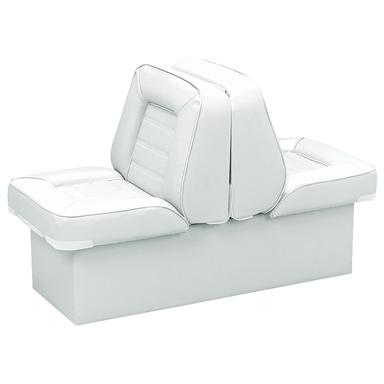 Wise Deluxe Boat Full Reclining Lounge Seat, White