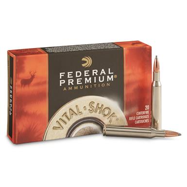 Federal, .270 Winchester, NP, 130 Grain, 20 Rounds