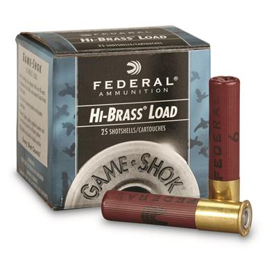 "Federal Classic, Hi-Brass, 410 Gauge, 2 1/2"" 1/2 oz. Shotshells, 25 Rounds"