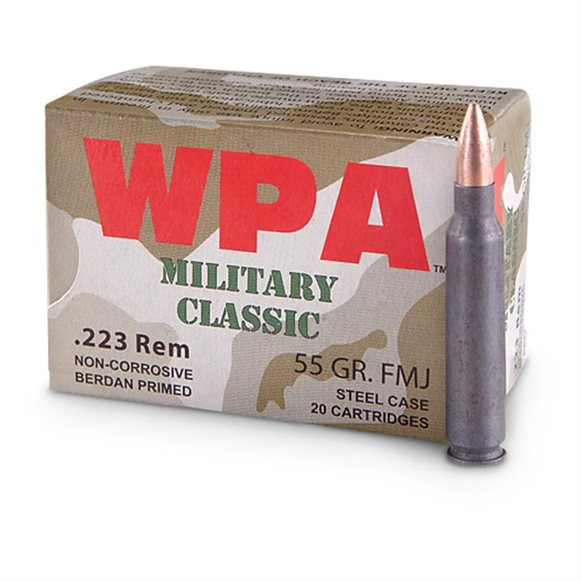 Wolf, .223 cal., SP, 1000 Rounds