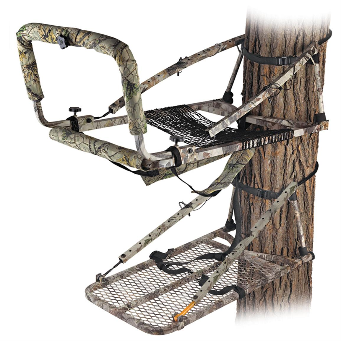 Gorilla Treestands Greyback Magnum Deluxe Hunter Climber