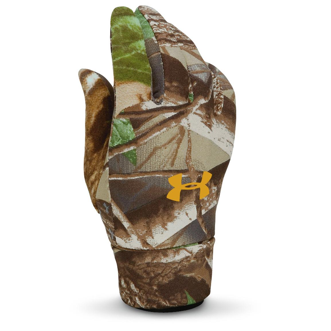 Under Armour® ColdGear® Liner Gloves, Realtree® AP™; Also in Mossy Oak Break-Up® Infinity™