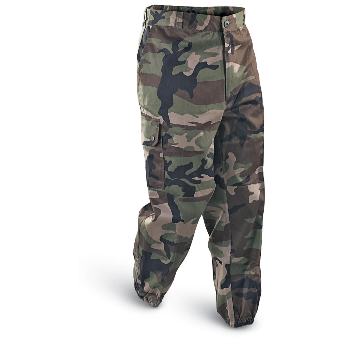 Mil-Tec French Military Camo Cargo Pants