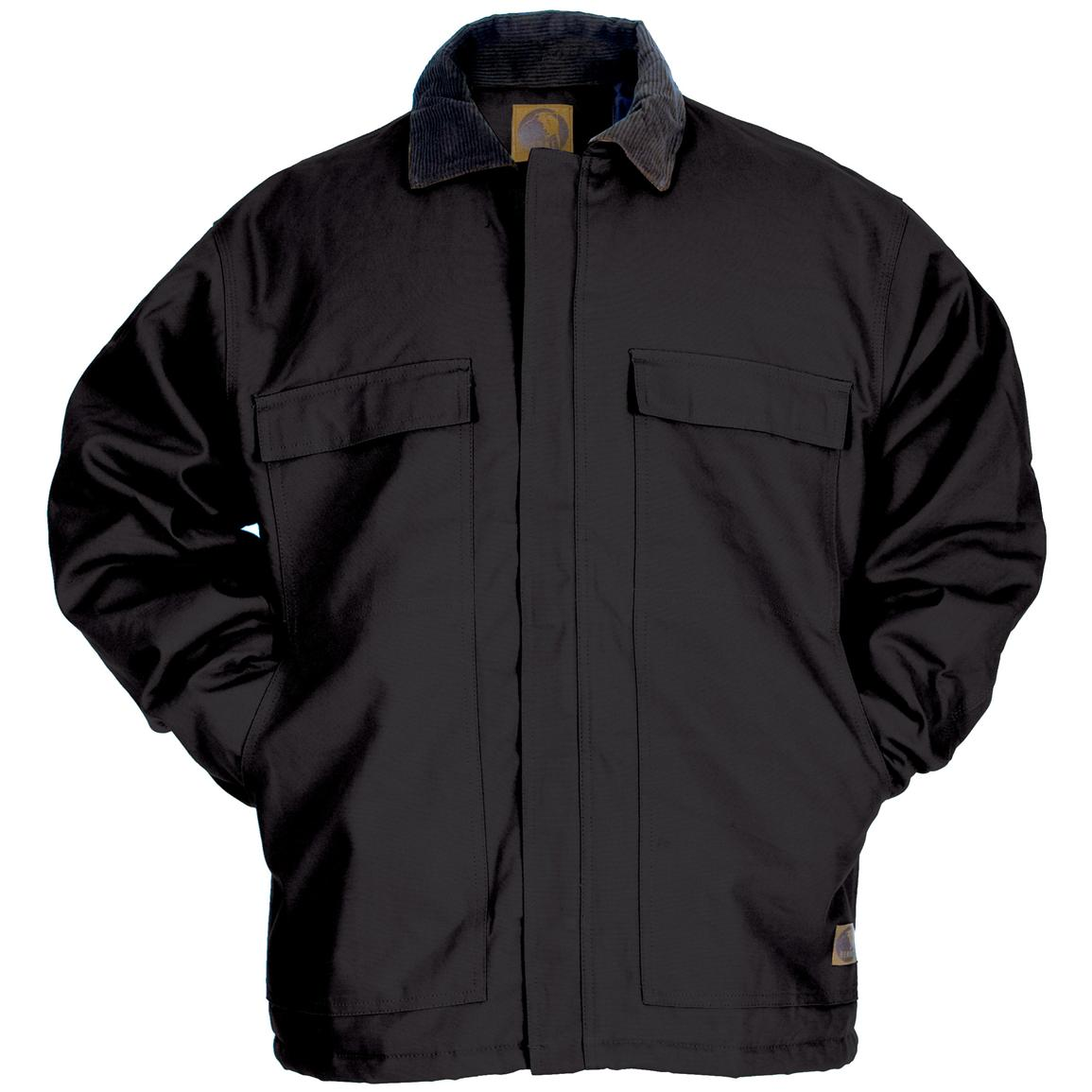 Men's Berne Apparel® Original Chore Coat, Black
