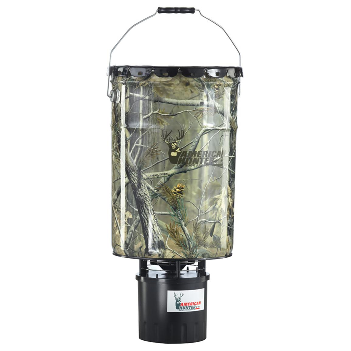 American Hunter 50 lb. Hanging Feeder, Realtree AP Camo