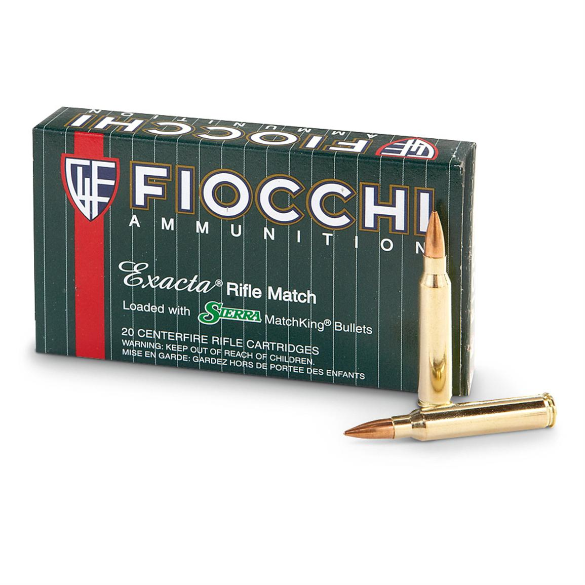 Fiocchi Exacta® .223 Rem. 69 Grain Rifle Ammo, 20 Rounds