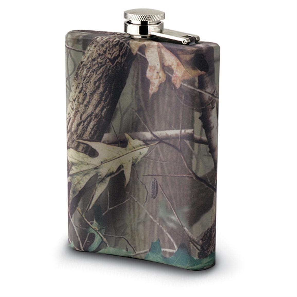 Team Realtree Hip Flask