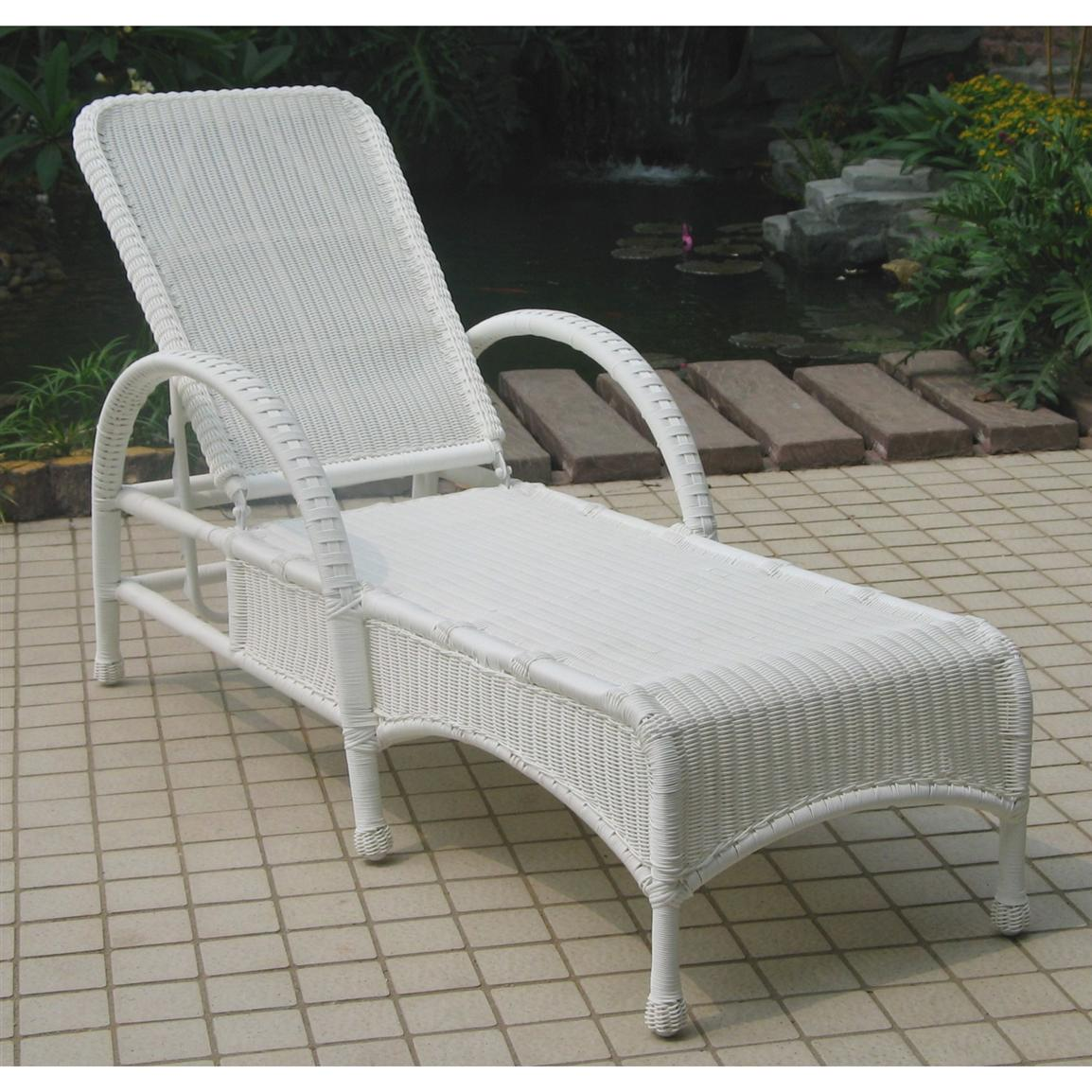 Chicago Wicker Darby All Weather Wicker Chaise Lounge : chaise lounge chicago - Sectionals, Sofas & Couches