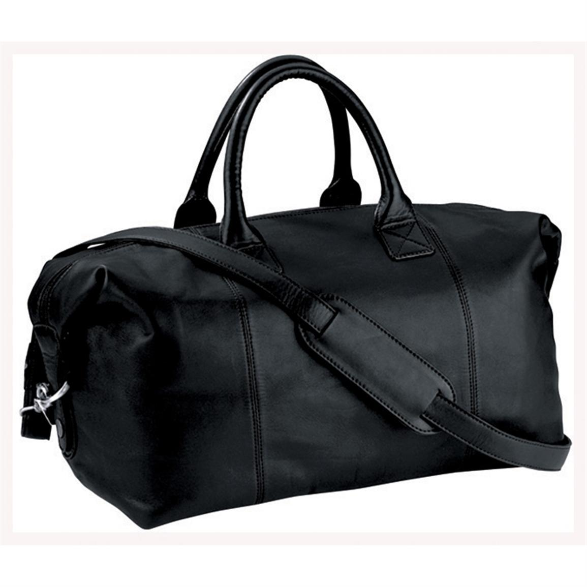 Royce Leather Euro Traveler Petite, Black