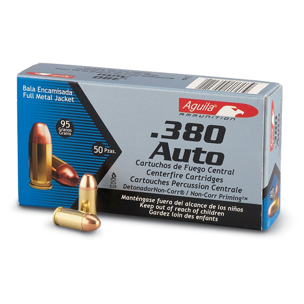 50 rounds Aguila Ammo