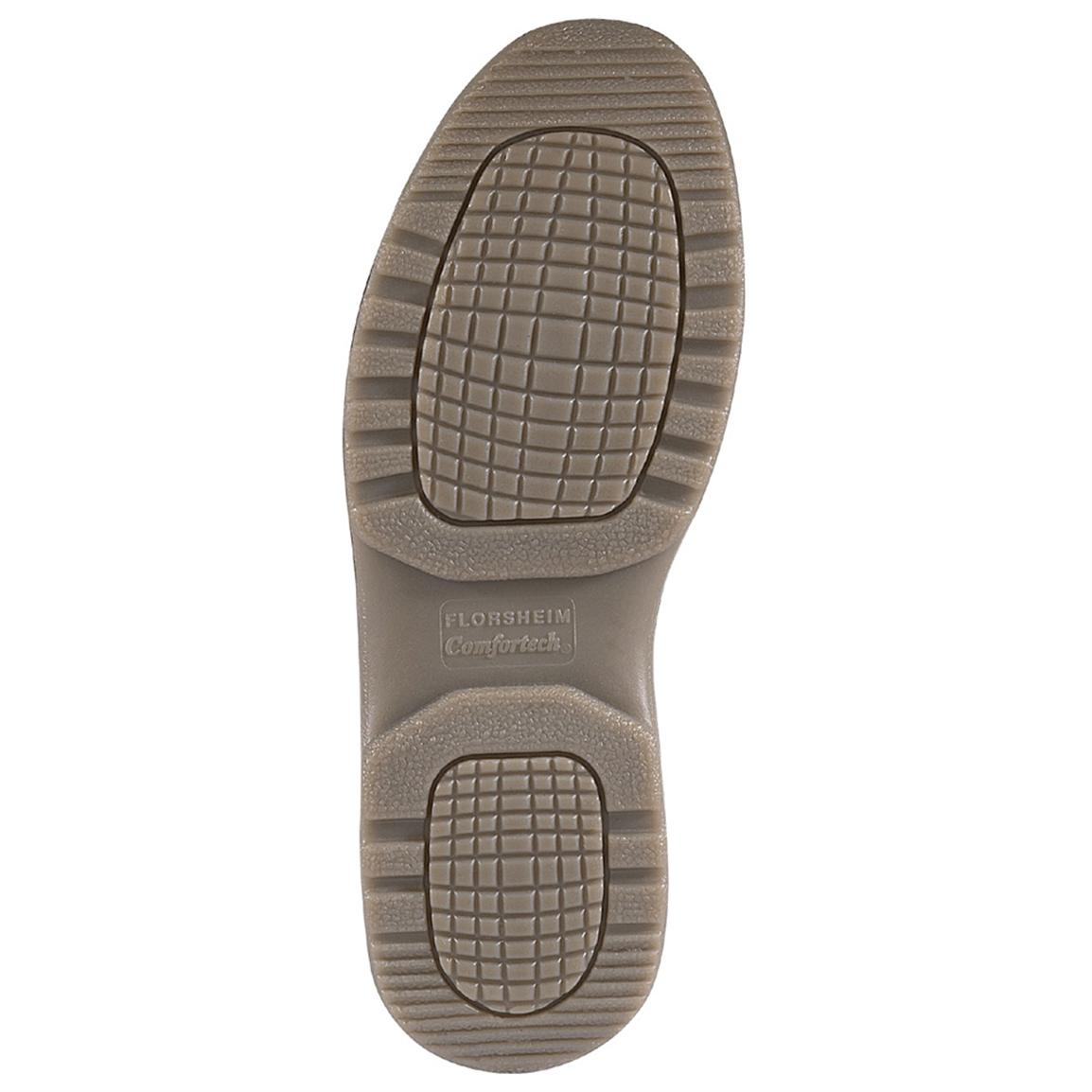 TPU outsole is slip, oil, metal chips, heat, abrasion and chemical resistant