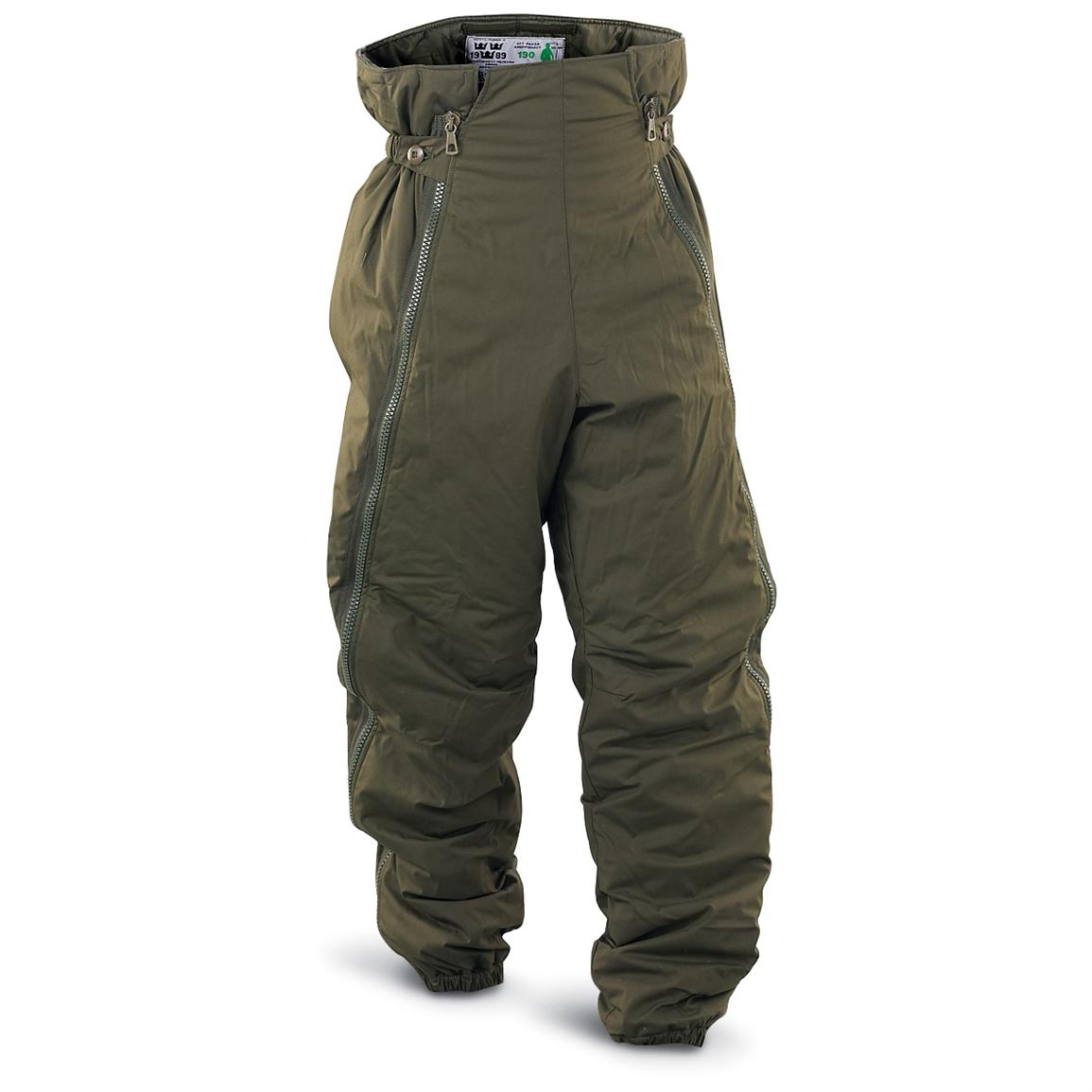 New Swedish Military M90 Insulated Pants, Olive Drab ...