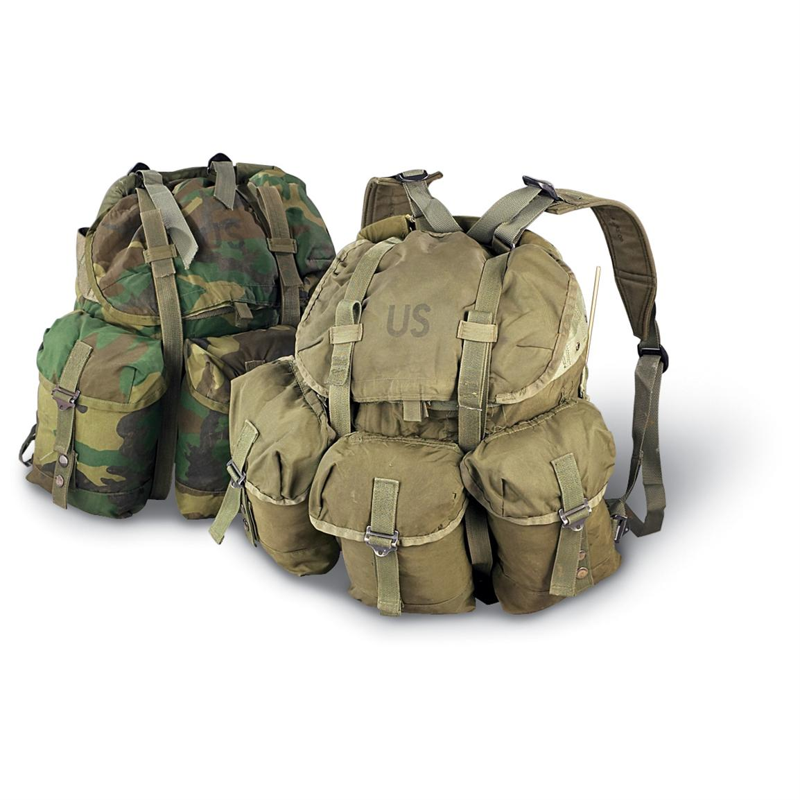 Used U.S. Military ALICE Pack with Shoulder Straps - 108027 ...