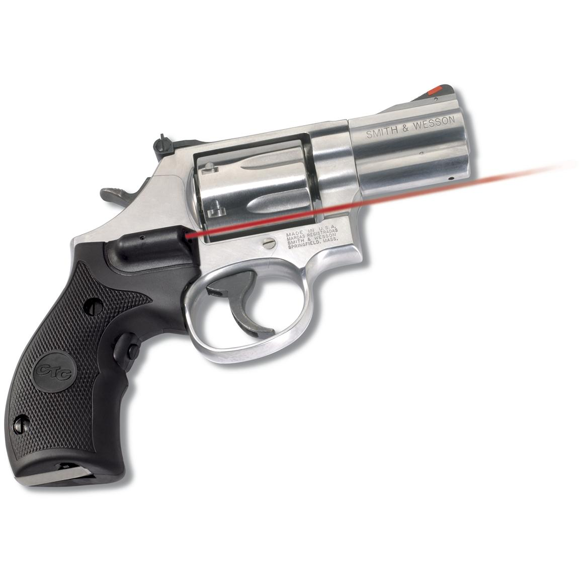 Crimson Trace Revolver Lasergrips for Smith & Wesson K- and L-Frames