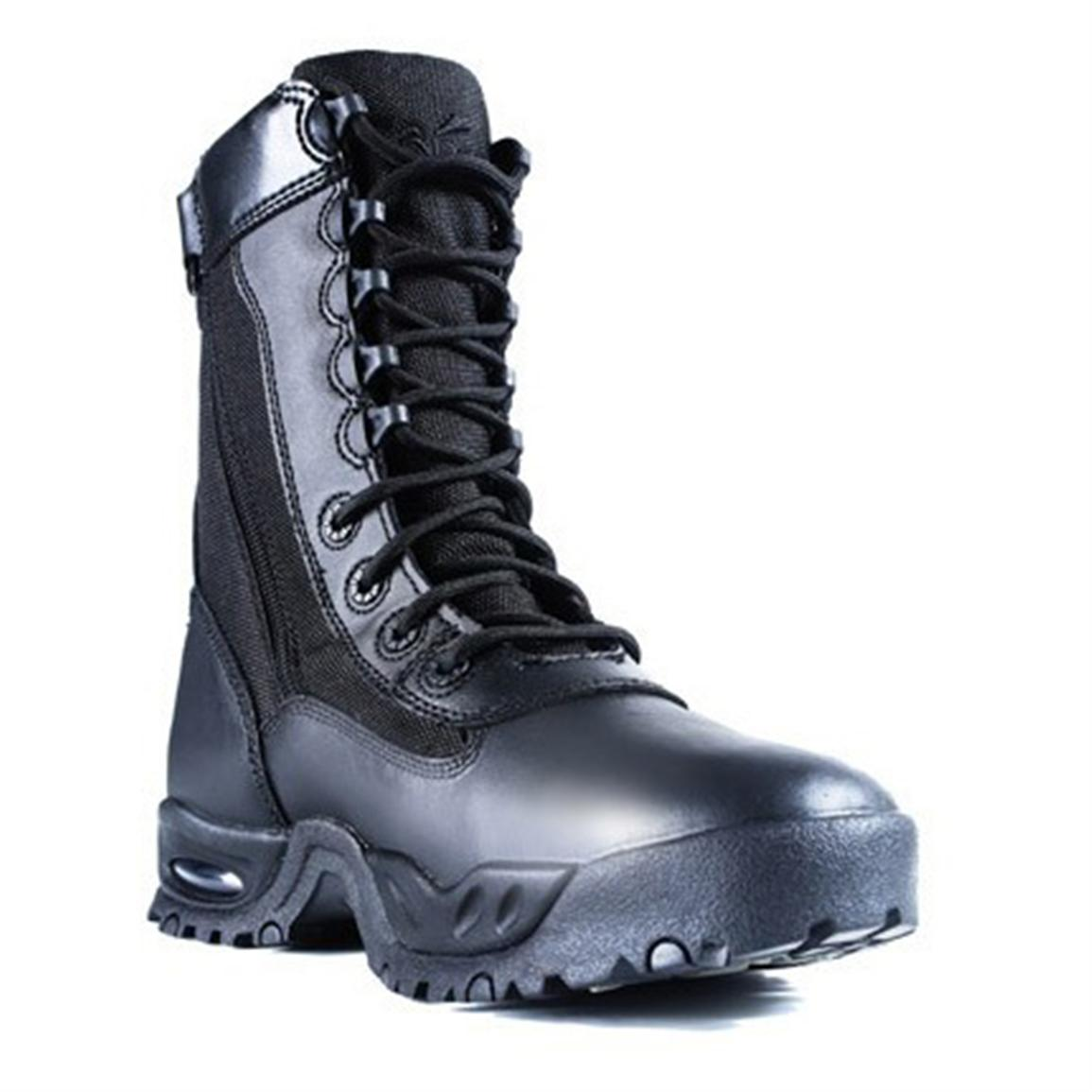 Men's Ridge AIR-TAC Zipper Combat Boots, Black