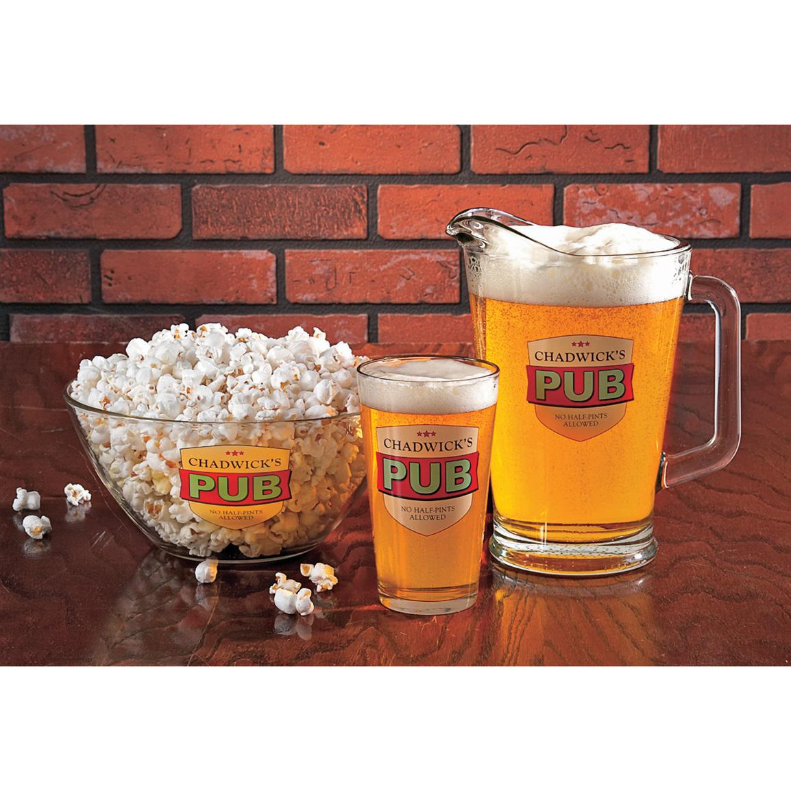 Personalized Pub Glassware