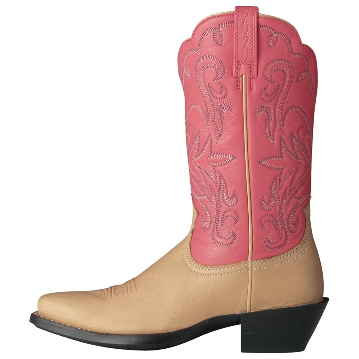 Wonderful Ariat Legend 11 Cowboy Boots  Leather Square Toe For Women In