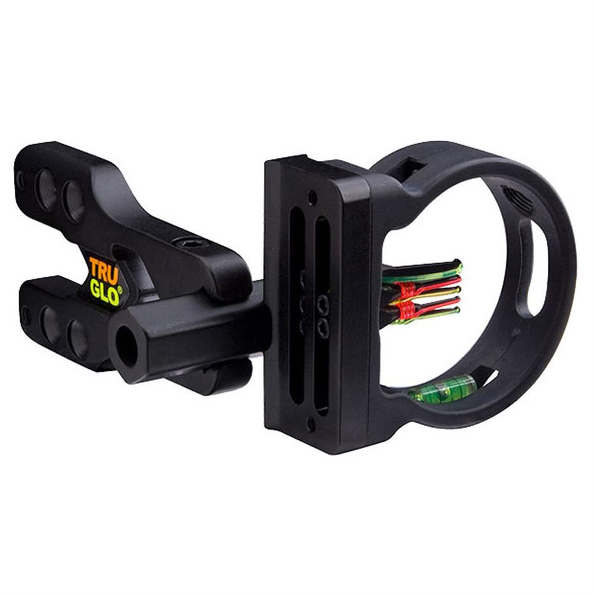 Truglo Brite-Site Xtreme Series 5-Pin Sight with Green TFO (Tritium Fiber Optic) Pin