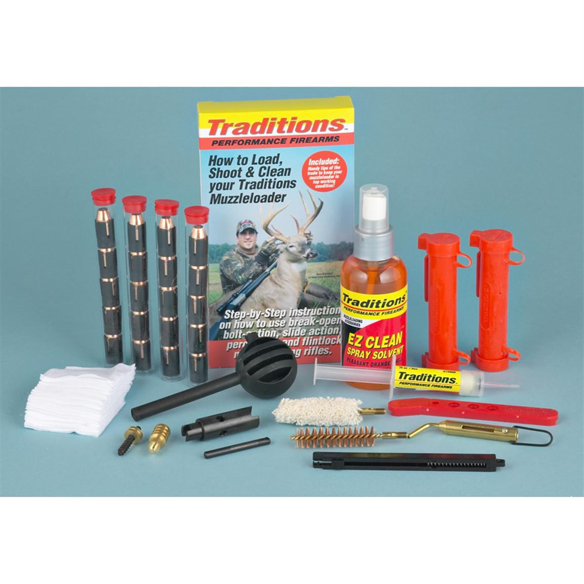 Traditions .50 Caliber Pellet Shooters Kit