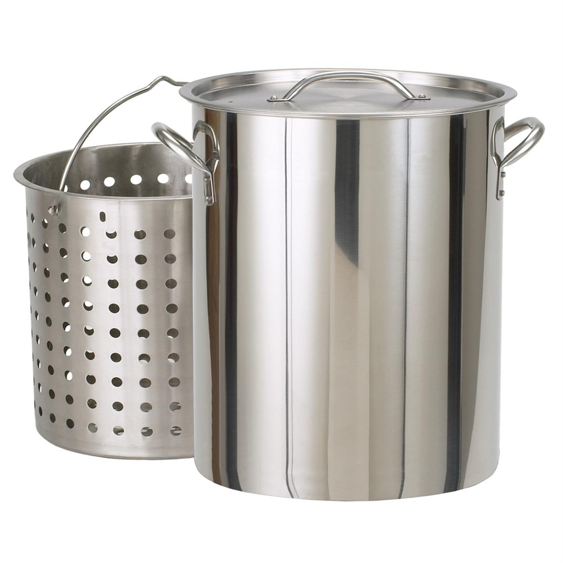 Bayou Classic 142-Quart Stainless Steel Stockpot