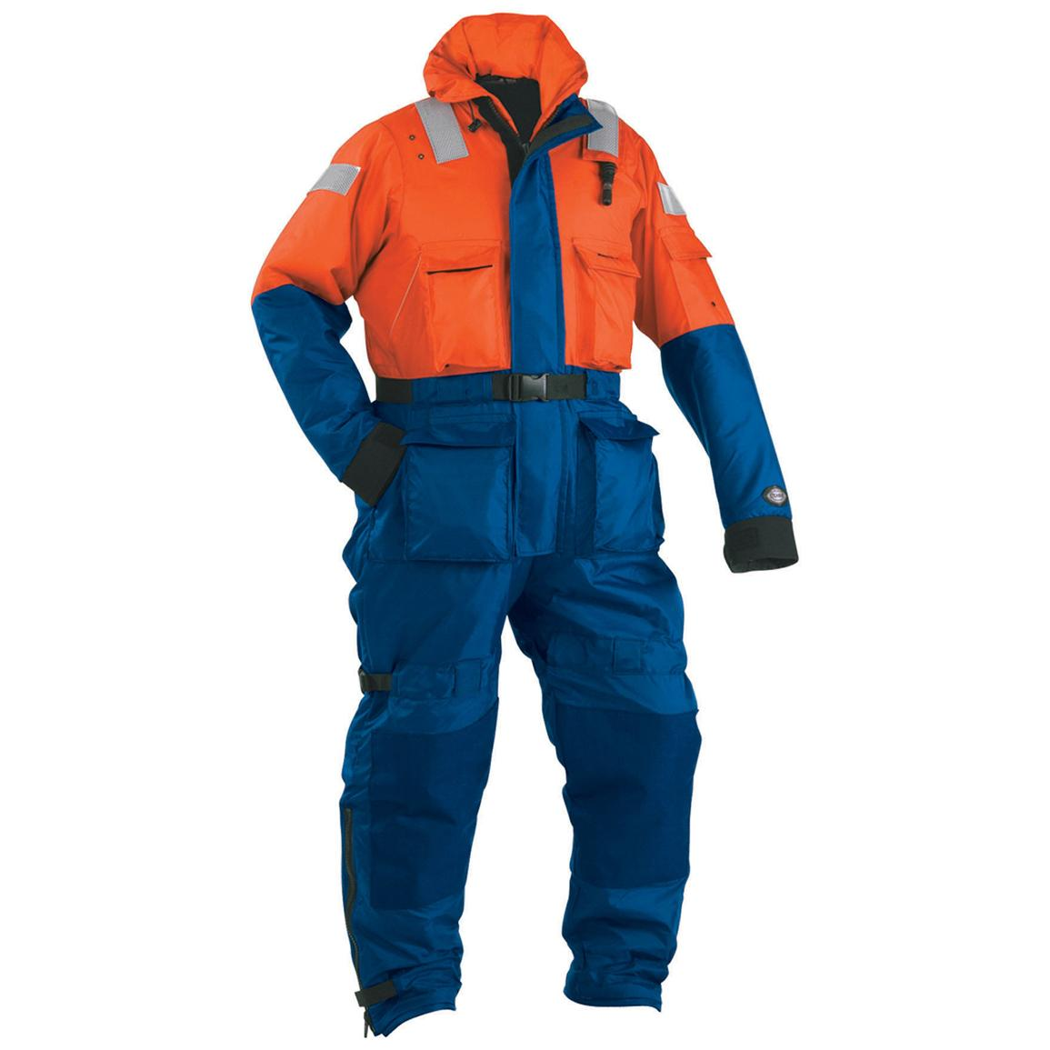 Stearns The Challenger Anti-Exposure Work Suit, Orange / Navy