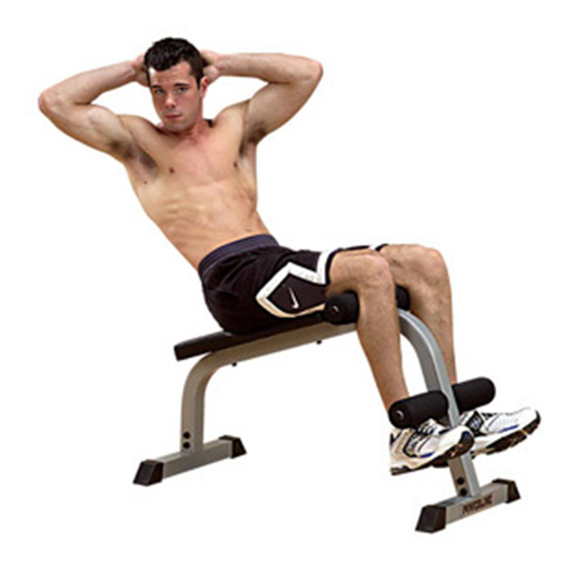 Body-Solid PowerLine Ab Board
