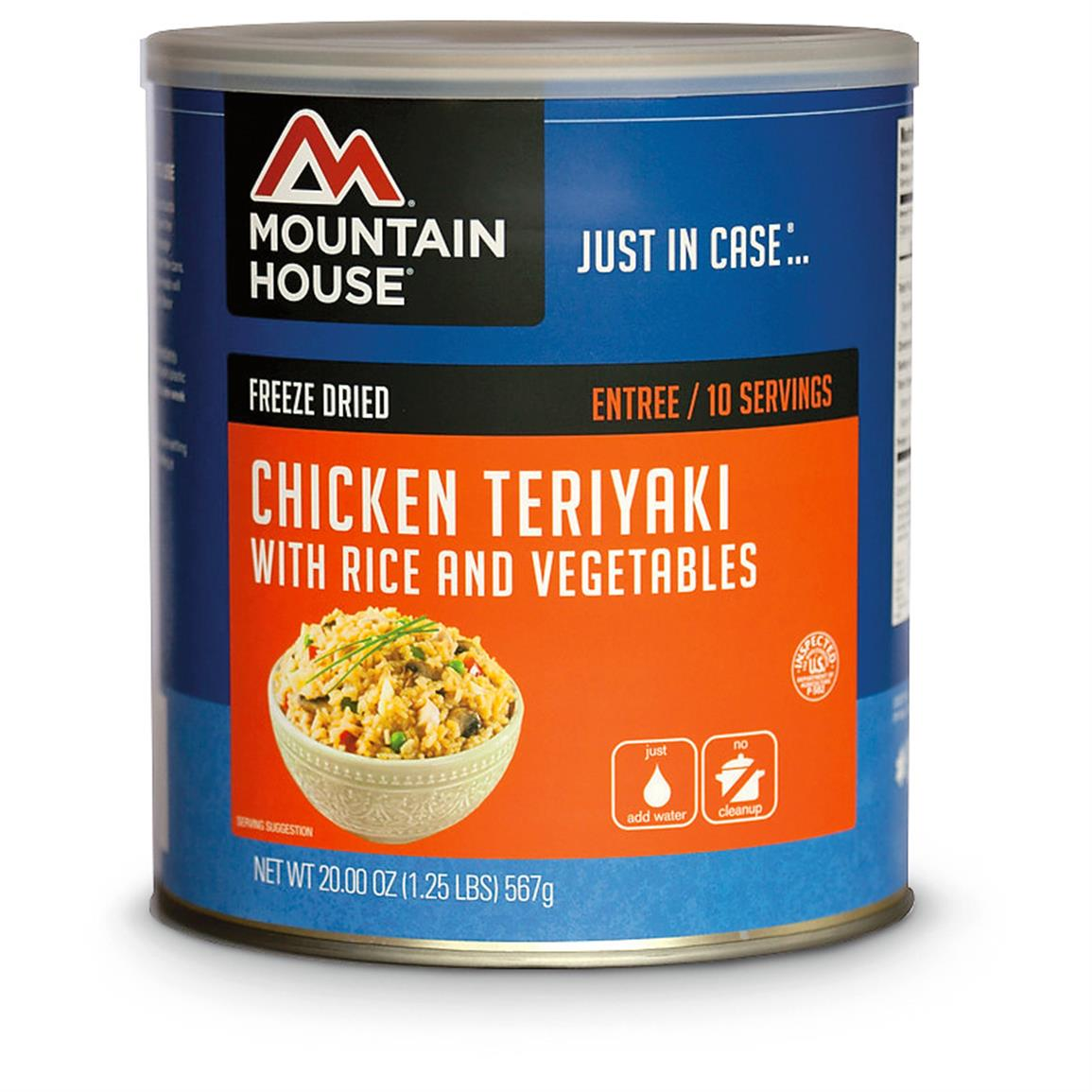 Mountain House Emergency Food Freeze-Dried Chicken Teriyaki