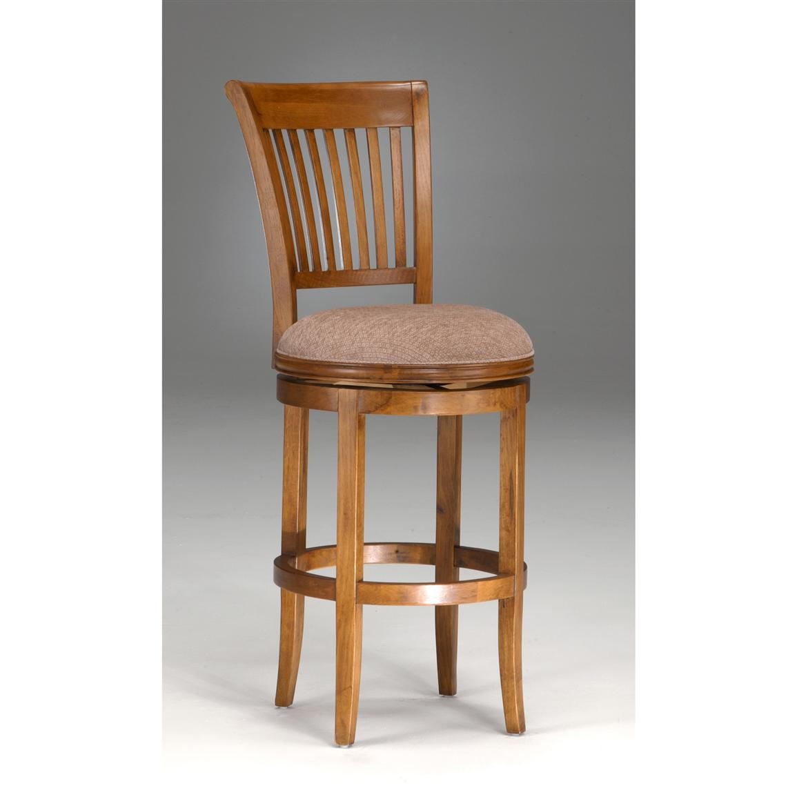 Hillsdale Oak View Swivel Bar Stool 118160 Kitchen