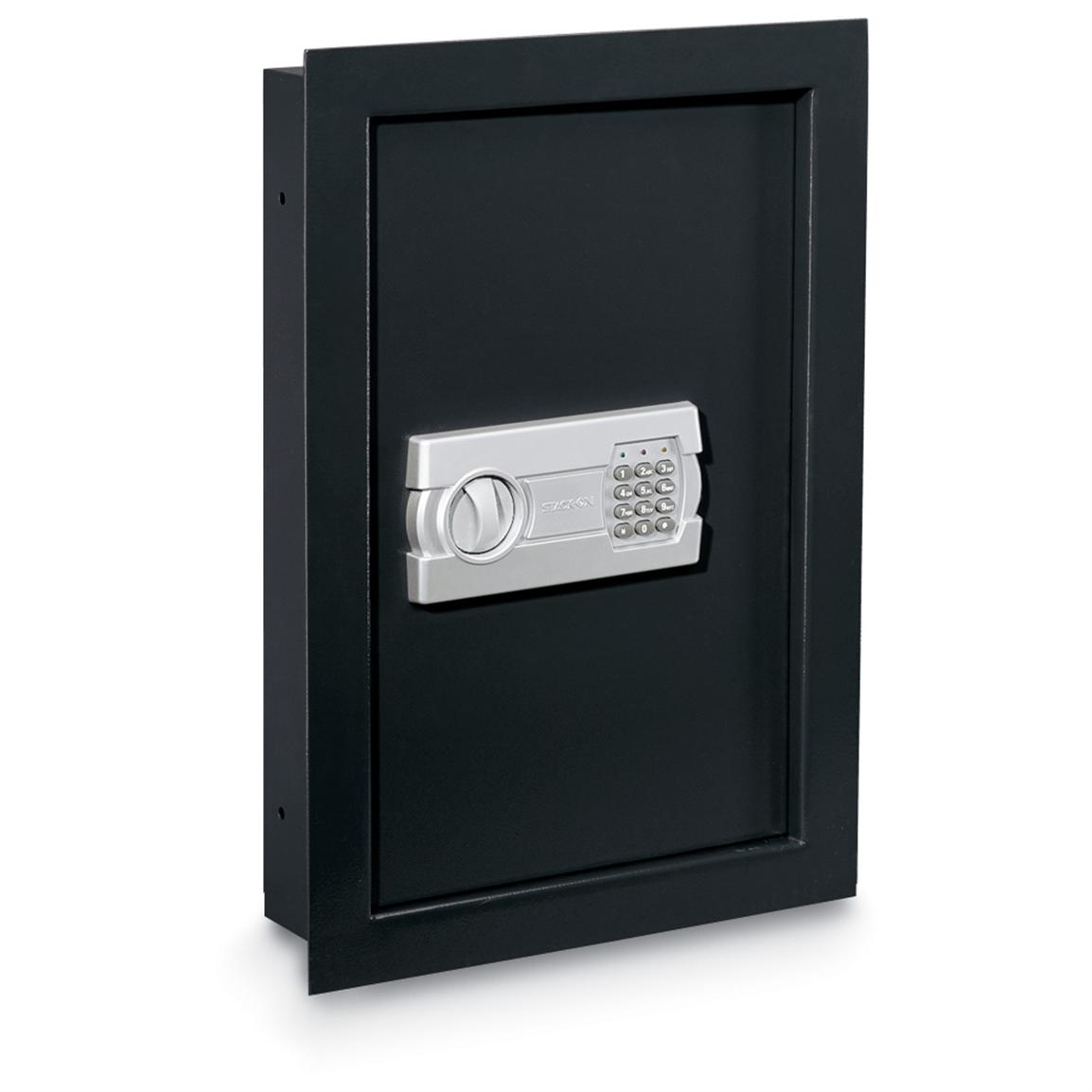 Stack-On Between Studs Wall Safe