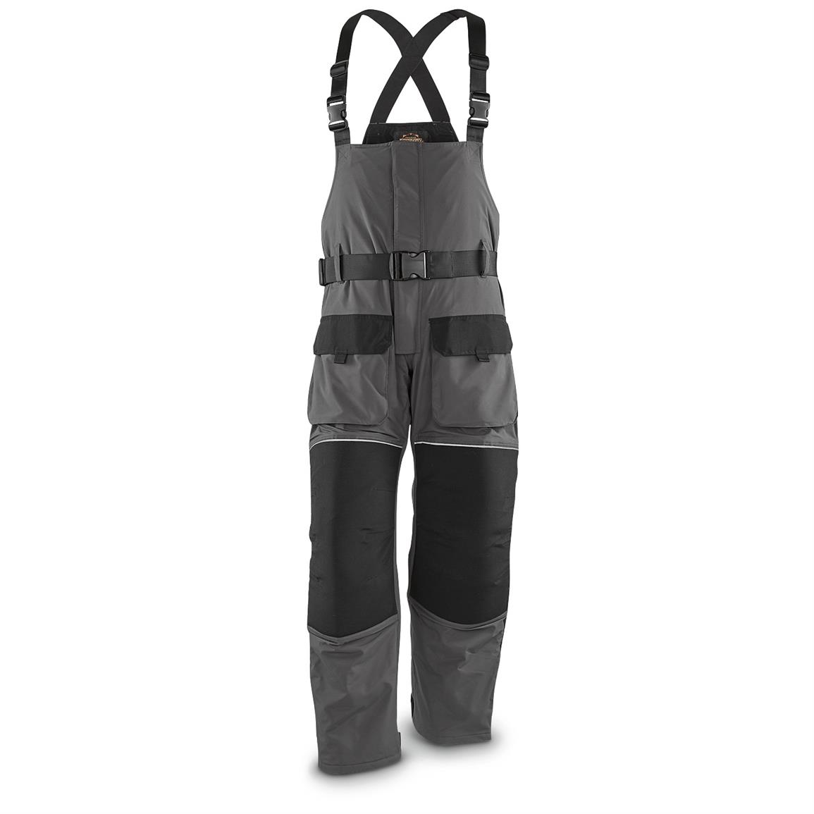 Guide Gear Men S Cold Weather Insulated Waterproof Bibs