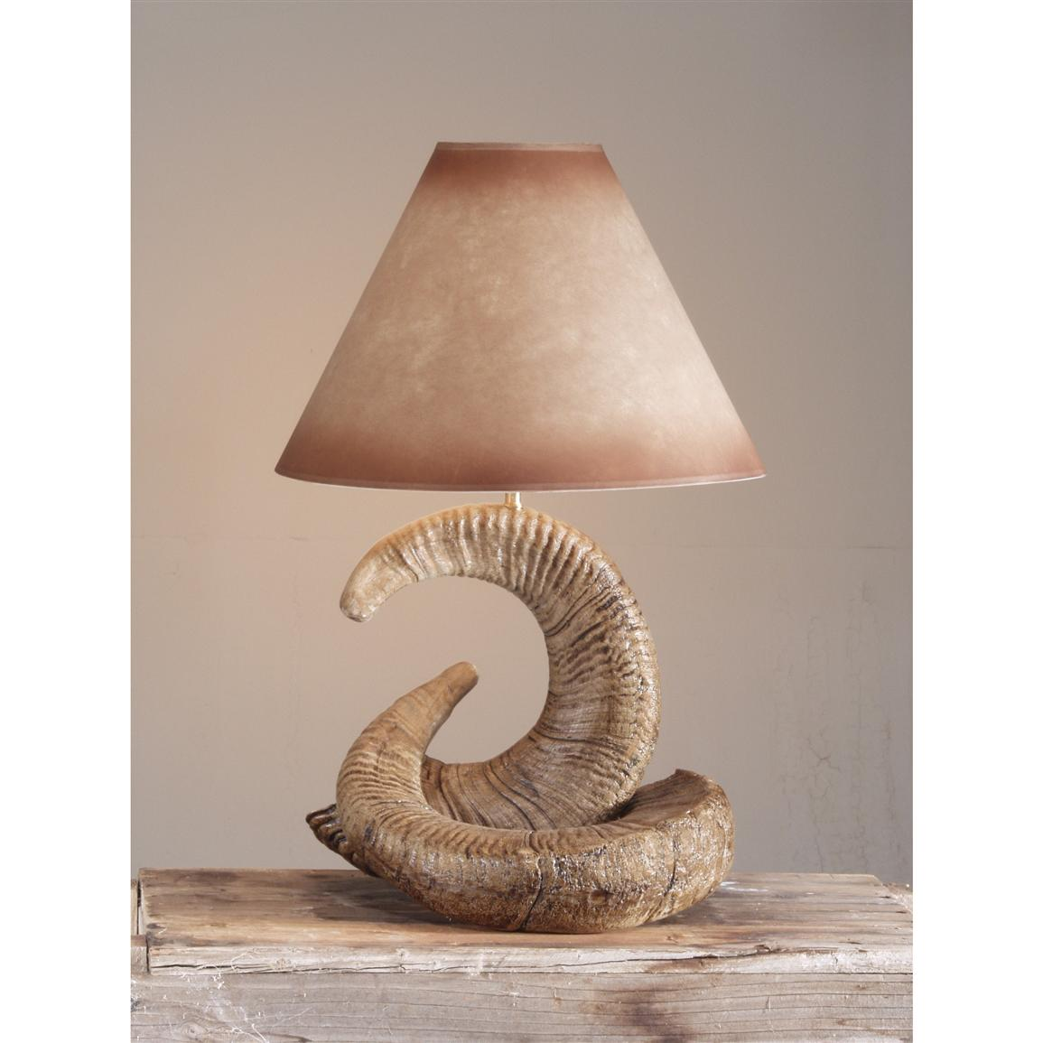 Rocky Mountain Ram Table Lamp