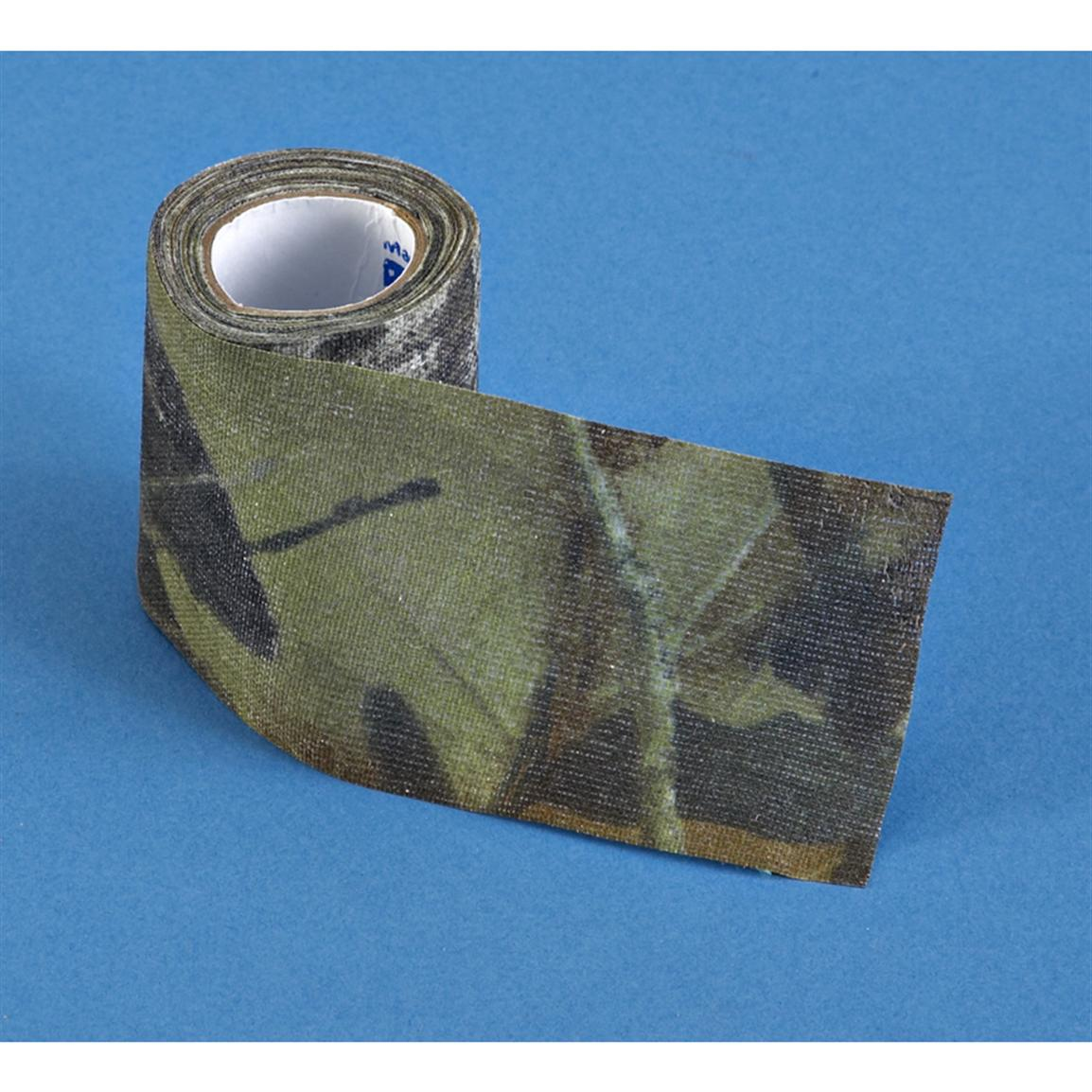 "Allen Cloth Tape 2""x10' Roll, Mossy Oak Break-up"