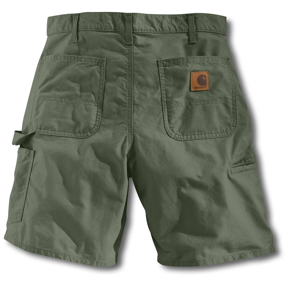 Carhartt Work Shorts, Olive