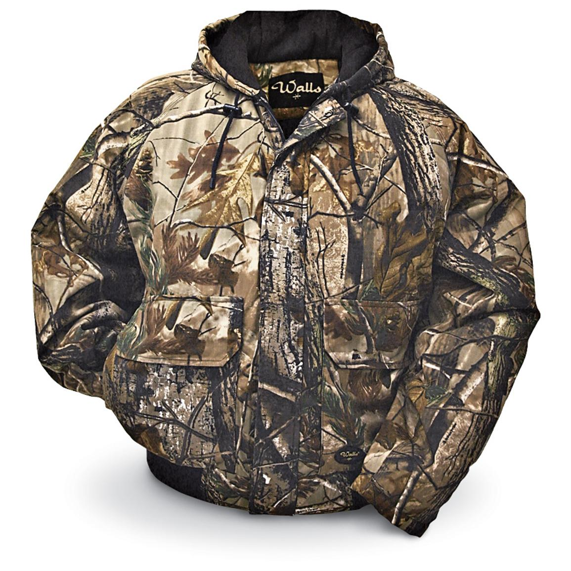 Walls Legend Insulated Hooded Jacket, Realtree All Purpose