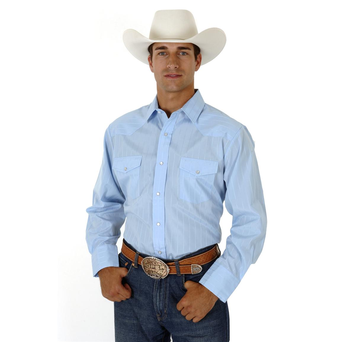 Roper Long Sleeve Western Shirt