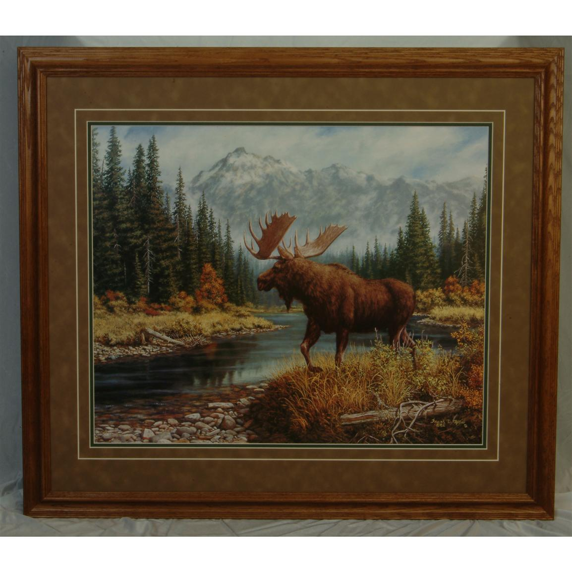 High Mountain Peace Framed Art By Frank D Miller 127765 Wall Art At Sportsman 39 S Guide