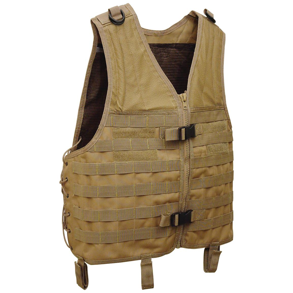 MOLLE Universal Vest, Coyote Tan