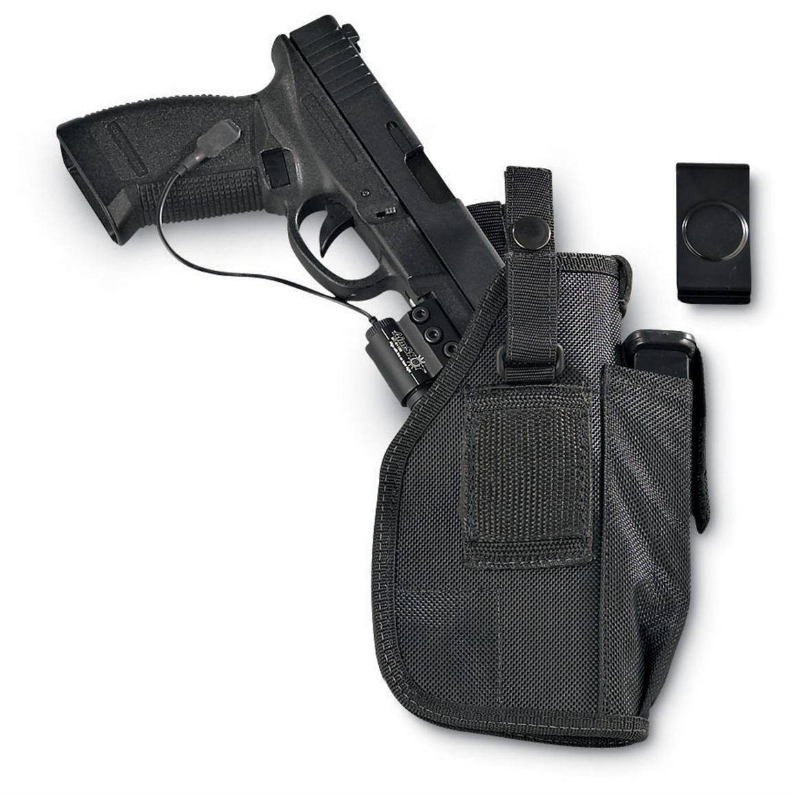 Python Ambidextrous Accessory Holster with Mag Pouch