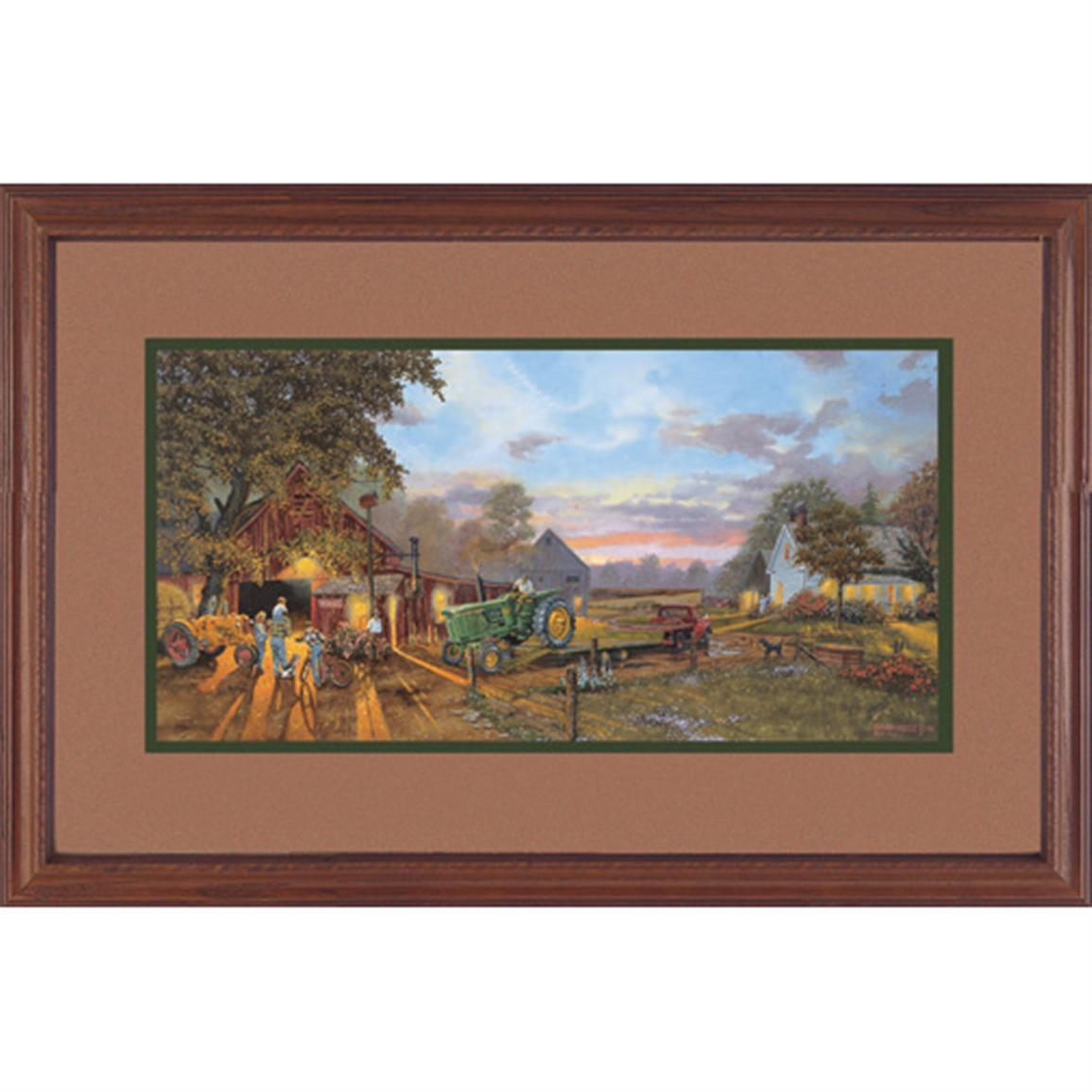 "Dave Barnhouse ""Once In a Lifetime"" Framed Print"