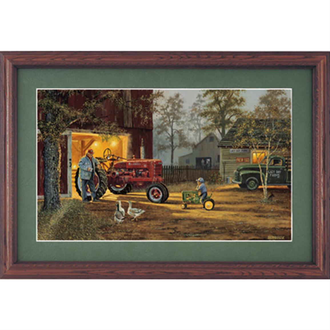 "Dave Barnhouse ""Common Ground US"" Framed Print"