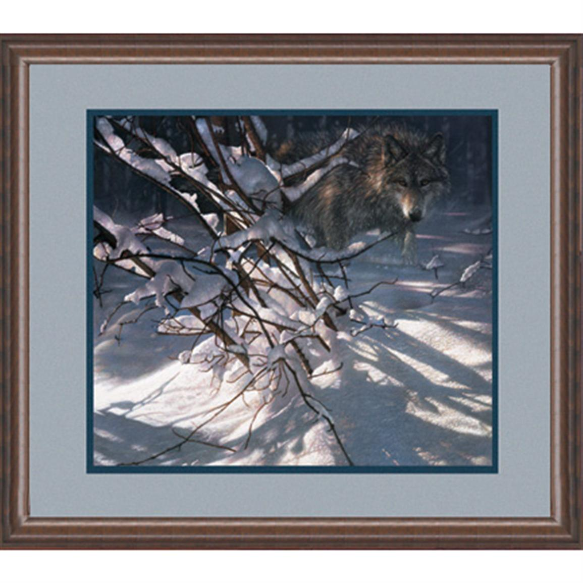 """Out of the Darkness"" By Collin Bogle Signed Open Edition Framed Print"