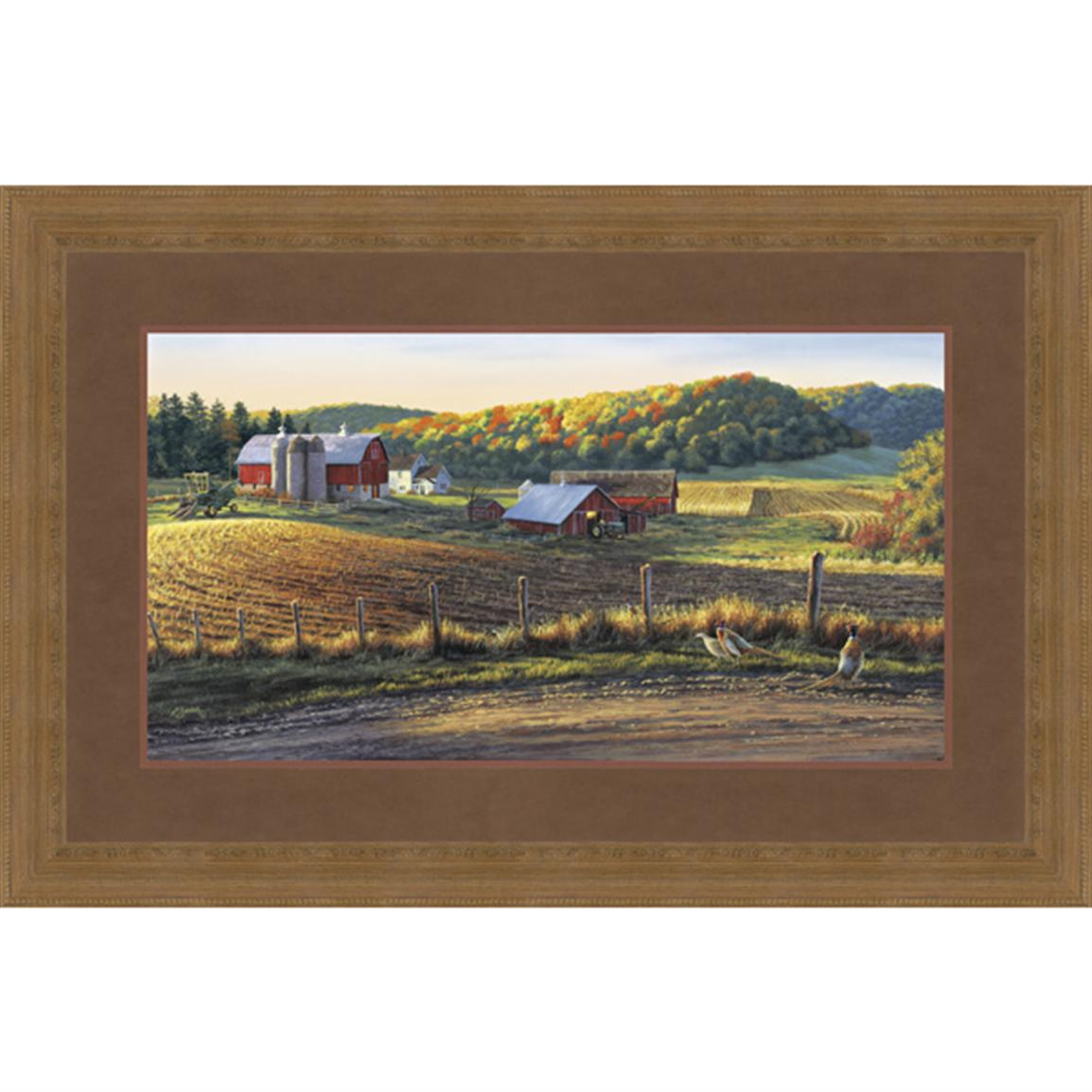 """Autum Harvest"" By Darrell Bush Signed Limited Edition"