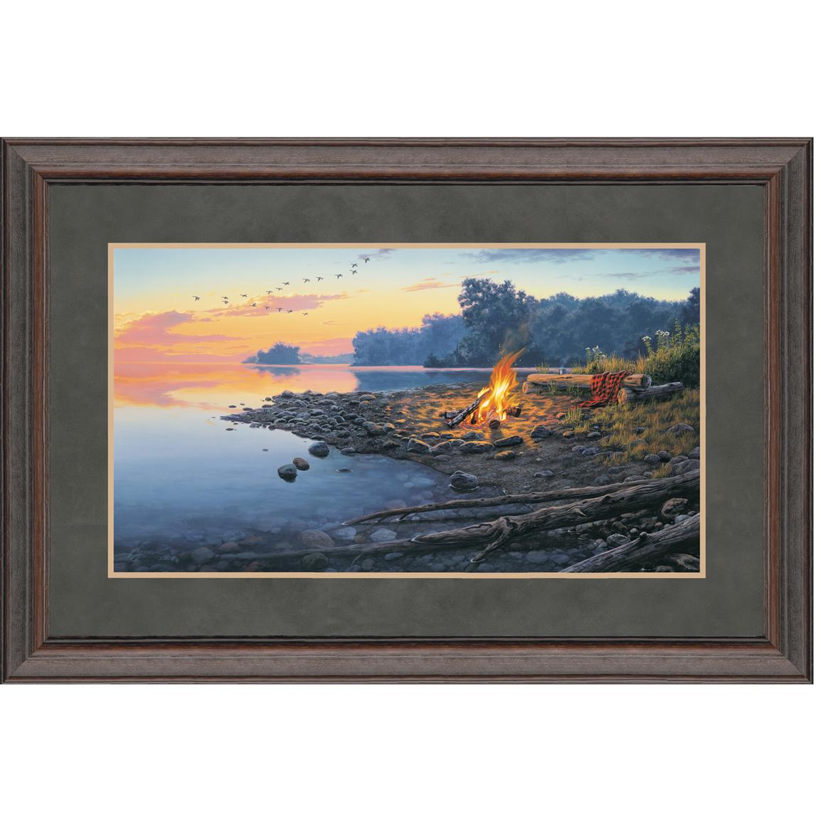 """Fireside Point"" By Darrell Bush Signed Limited Edition"