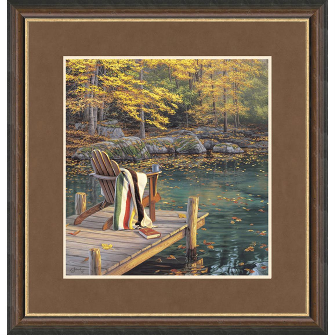 """Reflections on Golden Pond"" By Darrell Bush Signed Limited Edition"
