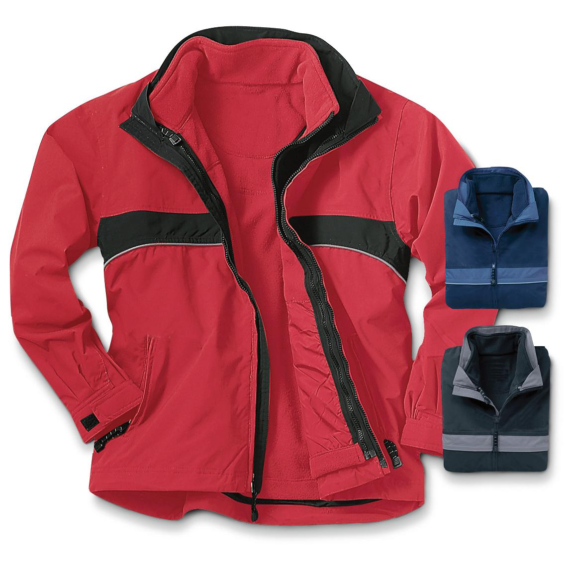 Men's River's End 3 - in - 1 Jacket with Zip - out Mirofleece Liner