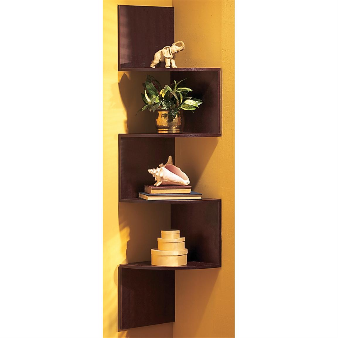 Hanging Corner Shelves