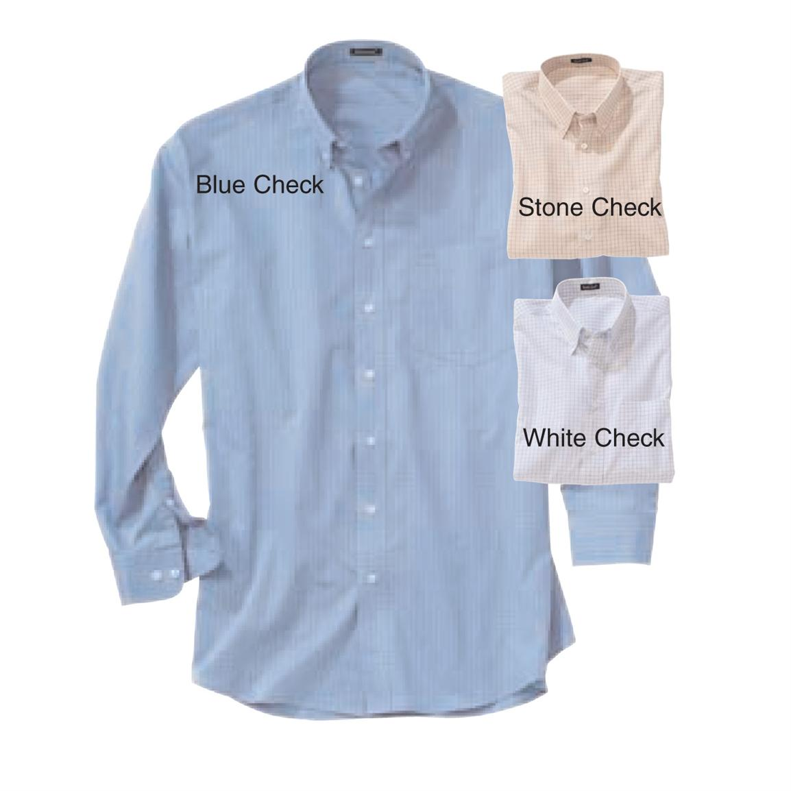 Men's River's End Easy-Care Checkered Long-sleeve Shirt