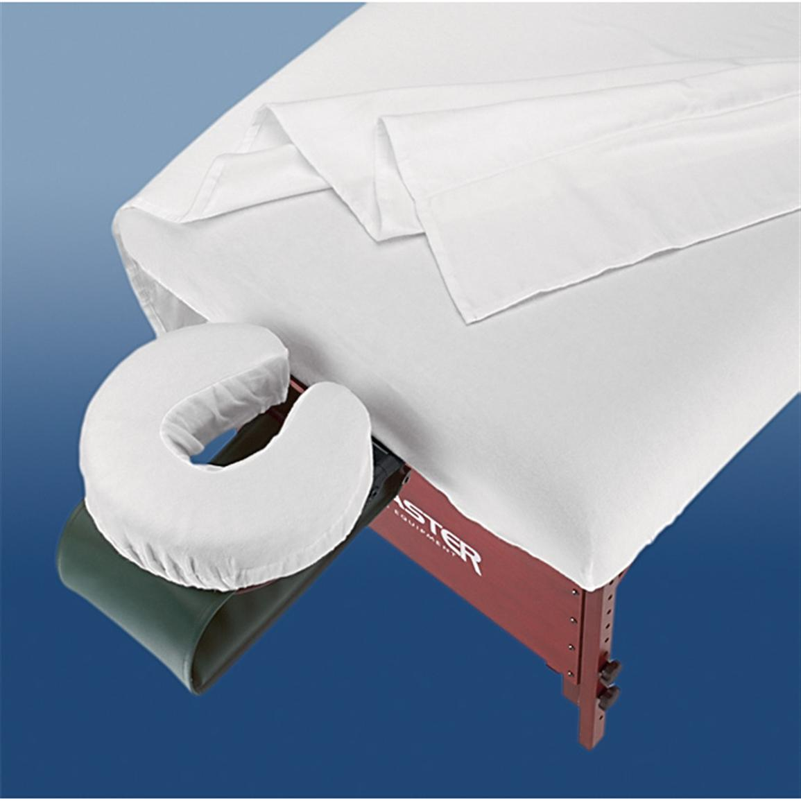 Fitmaster 3-Pc. Table Sheet Set, White
