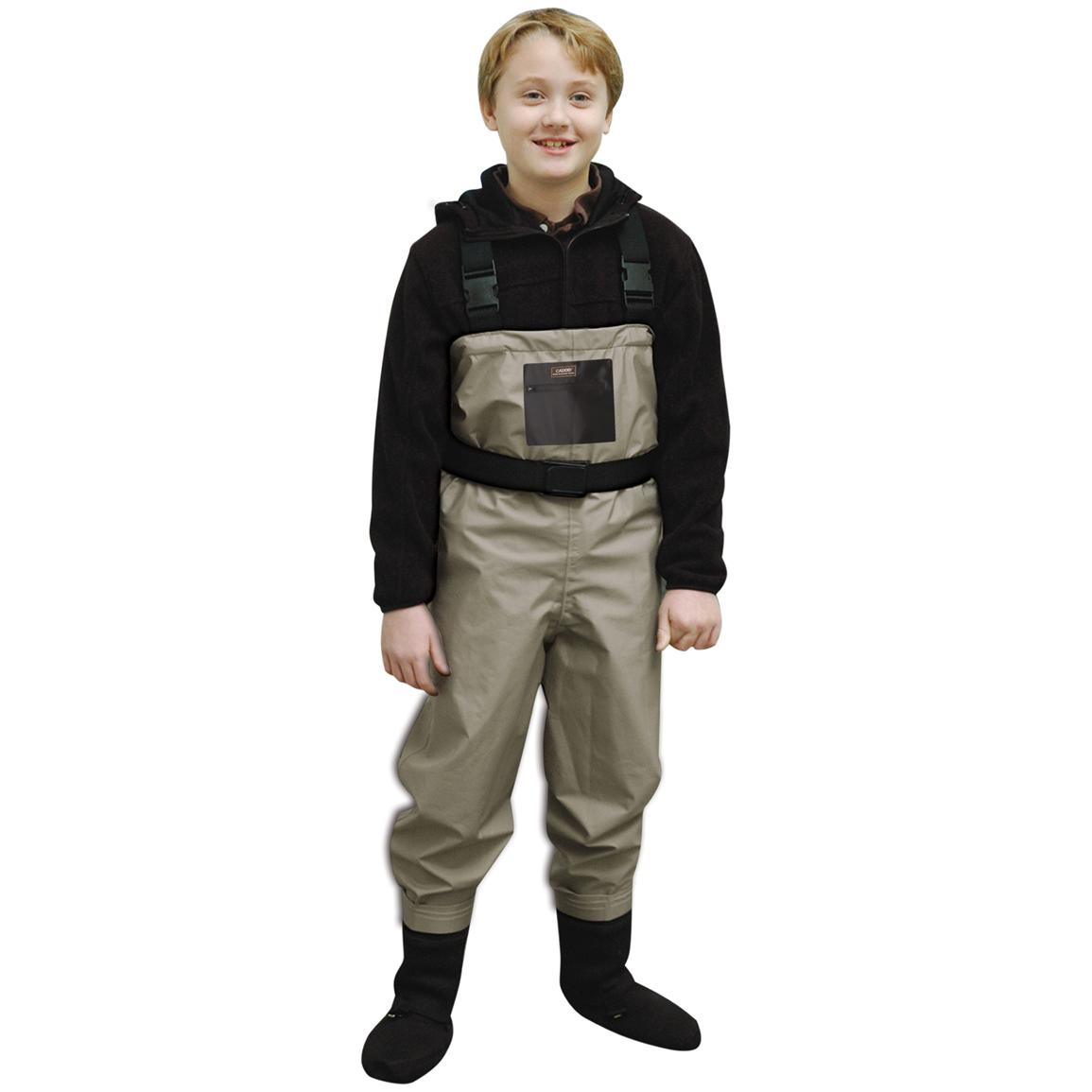 Caddis® Breathable Chest Waders, Boys